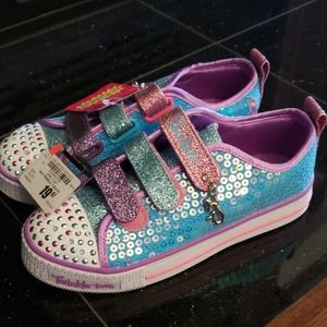 Girls Skechers Light Up Sneakers